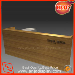 Wooden Front Desk Counter Cashier Table pictures & photos