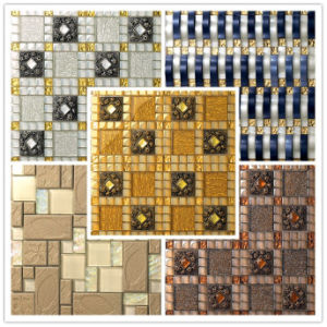 Decoration Material Wall and Floor Tile Glass Mosaic Ma-GS1003 pictures & photos