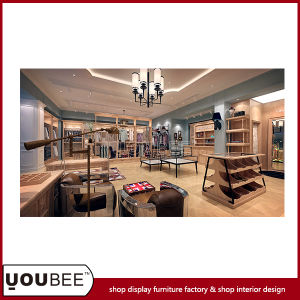 Fashion Menswear Shop Design, Clothes Shop Display Furnitures From Factory pictures & photos