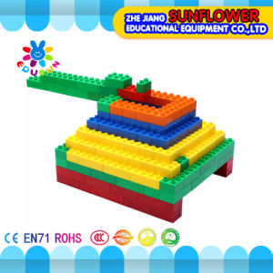 Children Plastic Desktop Toy Massive Building Blocks