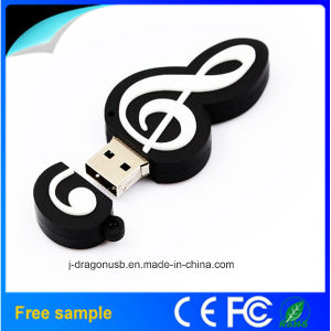 Free Samples Musical Notes USB Flash Drive 1GB 2GB