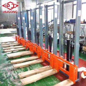 1.6ton Samuk Hand Manual Forklift Pallet Stacker pictures & photos