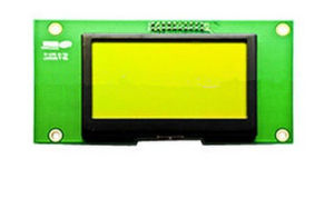 128*64 Dots Graphics LCD Modulestn, Yellow-Green, Positive, Transflective pictures & photos