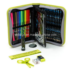 Filled Pencil Case, Pencil Case with Stationery pictures & photos