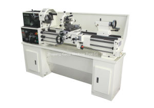 Conventional Mini Cutting Metal Bench Lathe Machine Ghb-1440A pictures & photos