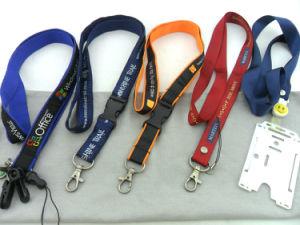 Fashion Design Wholesale Nylon Woven Printing String Lanyard (GBBP73) pictures & photos