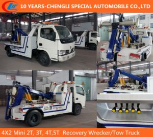 4X2 Mini 2t, 3t, 4t, 5t Recovery Wrecker/Tow Truck pictures & photos