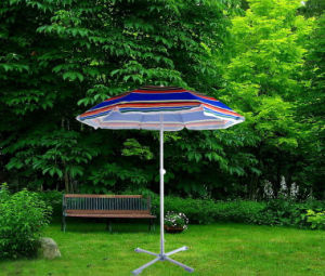 180cm*8k, Beach Umbrella with Heat Transfer printing with High Qualit and Waterproof