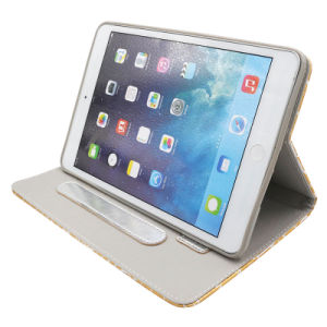 Crocodile Leather Cases for iPad with Angle Adjust and Sleep Function pictures & photos