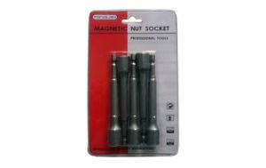 Chrome Vanadium HRC48 Slim Card Magnetic Nut Socket pictures & photos