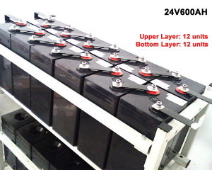 12V 100ah AGM Deep Cycle 12V Batteries with 5-Year Warranty pictures & photos