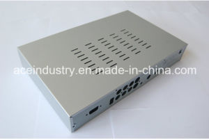 Set Top Box Made of Aluminum Metal Stamping Parts pictures & photos