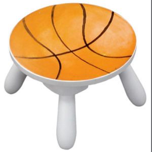 Football Kids Toddler Wooden Stool with Removable Legs (BS-03) pictures & photos