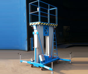6-12m Double Masts Aluminum Lift Table with Supporting Legs (GTWY6-200S)