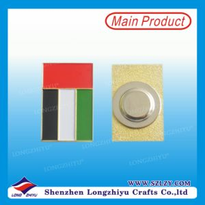 UAE Magnetic High End Badges Custom Design Welcome Pin Badge pictures & photos
