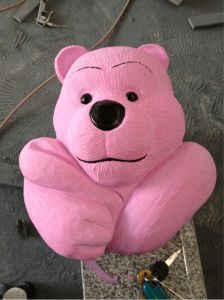 Small Natural Stone Bear Carving pictures & photos
