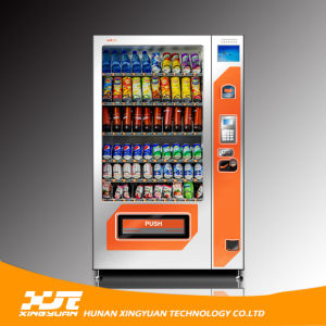 Combo Snack & Drinks Vending Machine with 8 Inches LCD pictures & photos