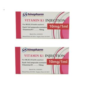 GMP Medicines, Vitamin K1 Injection pictures & photos