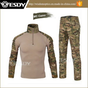 Tactical Tight Outdoor Sports Uniform Camouflage Suit Military Uniform pictures & photos
