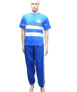 Spring/Summer Jogging Training Suit in Blue pictures & photos