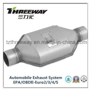 Car Exhaust System Three-Way Catalytic Converter #Twcat010 pictures & photos