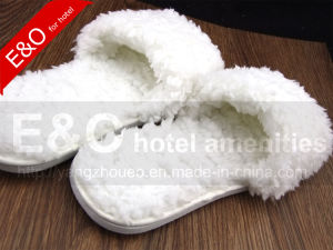 Plush Top Grade Indoor EVA Hotel Slipper pictures & photos
