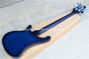 Hanhai Music / Dark Blue Electric Bass Guitar pictures & photos