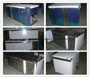 Stainless Steel Refrigerated Prep Counter pictures & photos