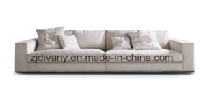 Modern Style Home Living Room Leather Sofa Furniture (D-72-D) pictures & photos
