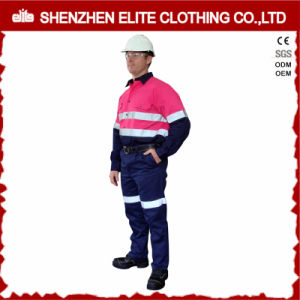 Mining Embroidery Hi Vis Reflective Safety Work Uniform pictures & photos