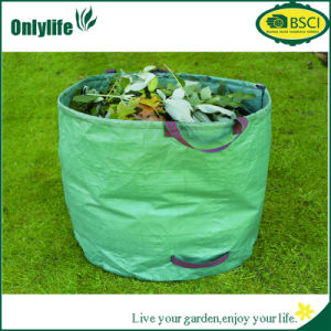 Onlylife Rectangle PE Fabric Garden Leaf Bag pictures & photos