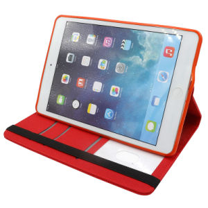 360 Degree Rotation Tablet Mobile/Cell Phone PU Leather Cases pictures & photos