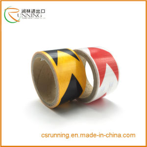 Bicolor Self-Adhesive Hazard Reflective Warning Tape with High Quality 3400 pictures & photos