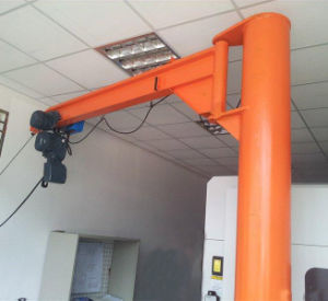 360 Degree Rotate Pillar-Mounted Jib Crane for Workstation pictures & photos