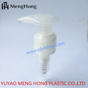 24/410 PP White Popular Lotion Pump for Shampoo Bottle pictures & photos