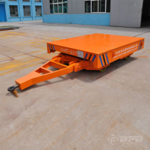 Unpowered Transportation Trolley Applied in Shipyard for Cargo Handling (KP-10) pictures & photos