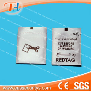 RF Label EAS Woven Label for Clothing pictures & photos