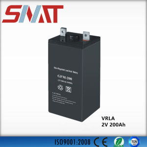 2V 200ah VRLA Battery for Solar Power System with Maintenance-Free pictures & photos