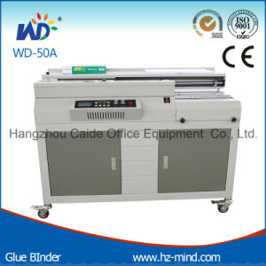 Professional Manufacturer (WD-50A) Glue Binding Machine pictures & photos