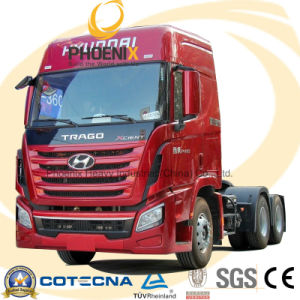 Low Price 6*4 410HP Sichuan Hyundai Tractor Head pictures & photos
