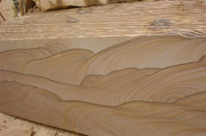 Sandstone Slabs for Sale a Quality Yellow Sandstone pictures & photos