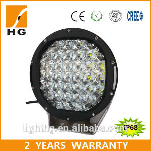 Ce Approced Black Red 9′′ 185W Round LED Driving Light for Offroad Truck pictures & photos