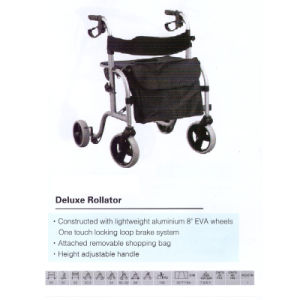 Deluxe Fashion Light-Weight Alumium Rollator
