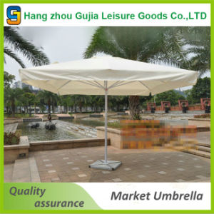 Outdoor Sunshade Strong Windproof   Patio  5X5m Square Garden Umbrella