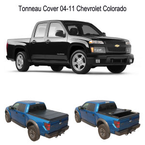 Hard Tri-Fold Truck Cover Tonneau for 04-11 Chevrolet Colorado pictures & photos