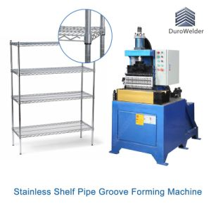 Shelving Post Rolling Groove Forming Machine pictures & photos