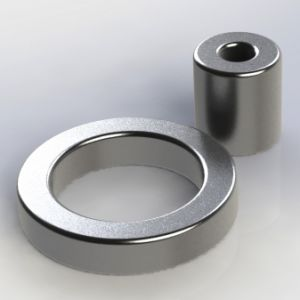 Ring Permanent Sintered NdFeB Iron Boron Magnet pictures & photos