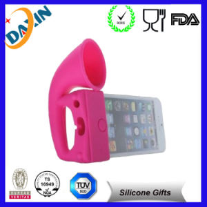 for iPhone 6 Factory Price New Design Silicone Horn Stand pictures & photos