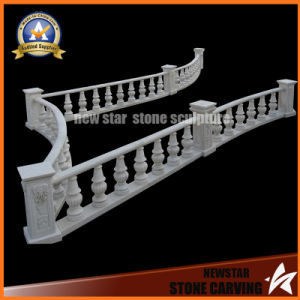 Marble Railing Handrail Stone Baluster Balustrade with Post pictures & photos