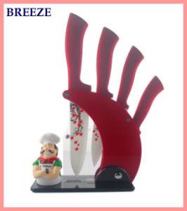 Exquisite 5 PCS Printing Ceramic Knife Sets pictures & photos